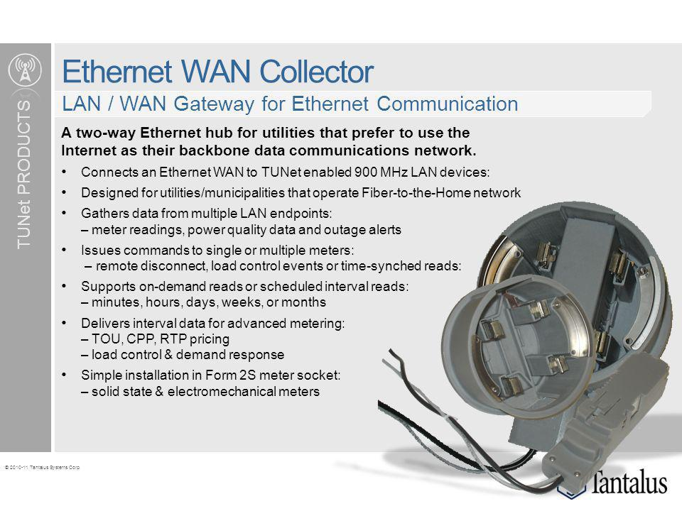 Ethernet WAN Collector