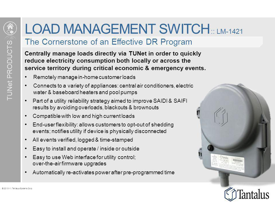 LOAD MANAGEMENT SWITCH :: LM-1421