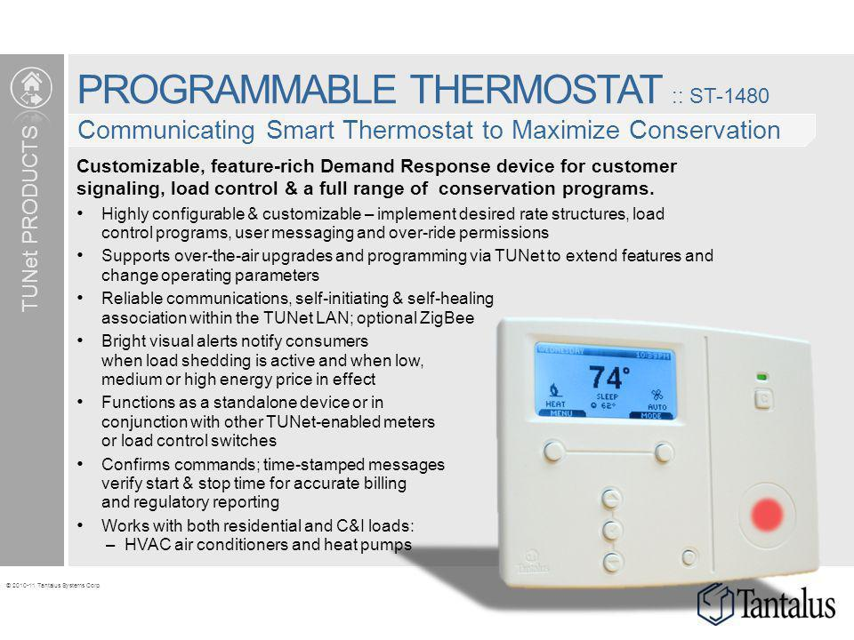 PROGRAMMABLE THERMOSTAT :: ST-1480