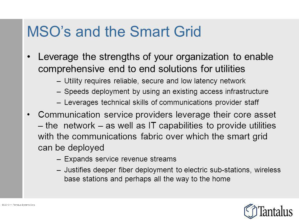 MSO's and the Smart Grid