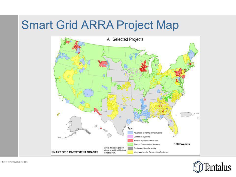 Smart Grid ARRA Project Map
