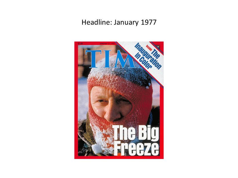 Headline: January 1977