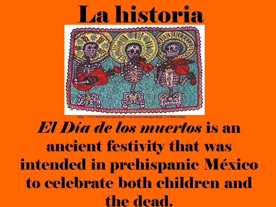 La historia http://www.mexicansugarskull.com/mexicansugarskull/TeeShirts.htm.