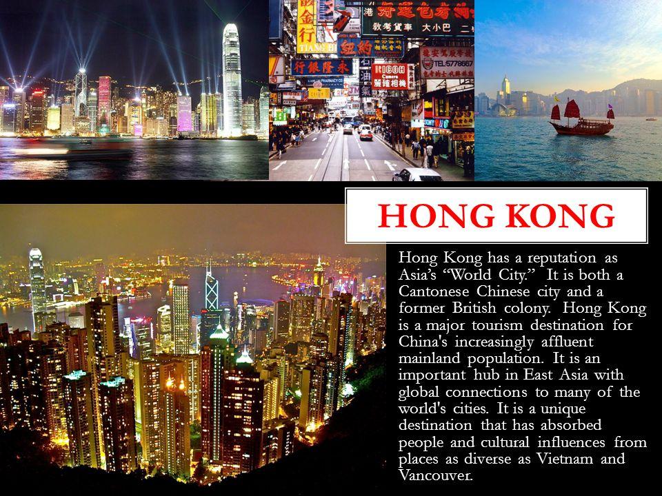 Hong Kong Hong Kong.