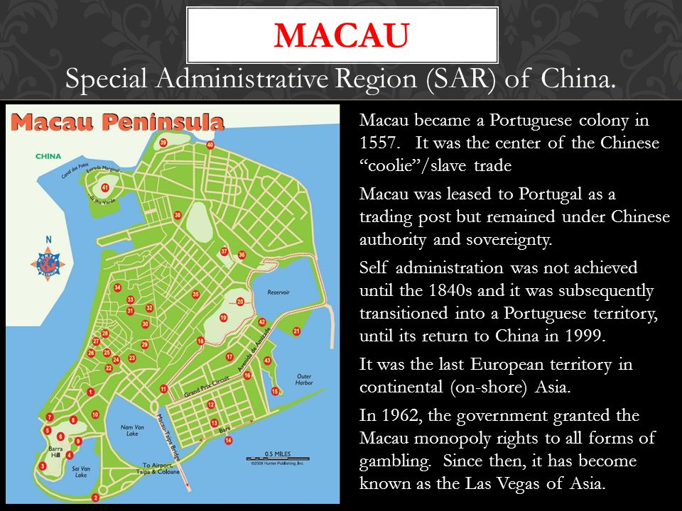 Special Administrative Region (SAR) of China.