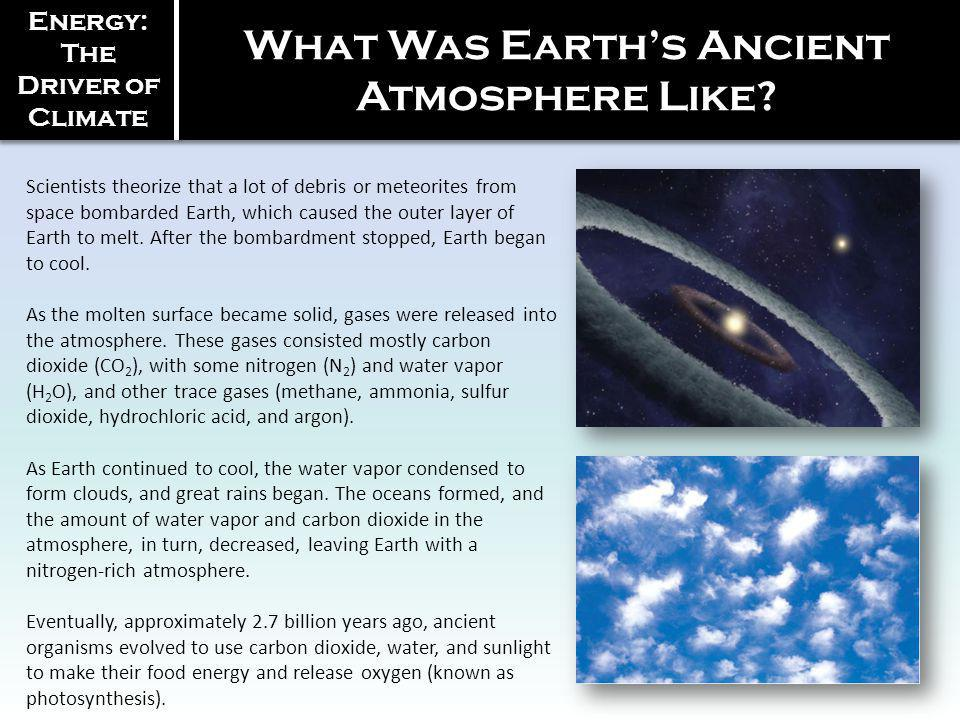 What Was Earth's Ancient Atmosphere Like