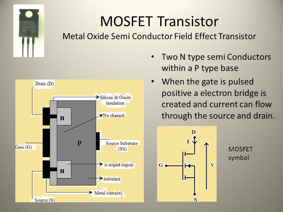MOSFET Transistor Metal Oxide Semi Conductor Field Effect Transistor
