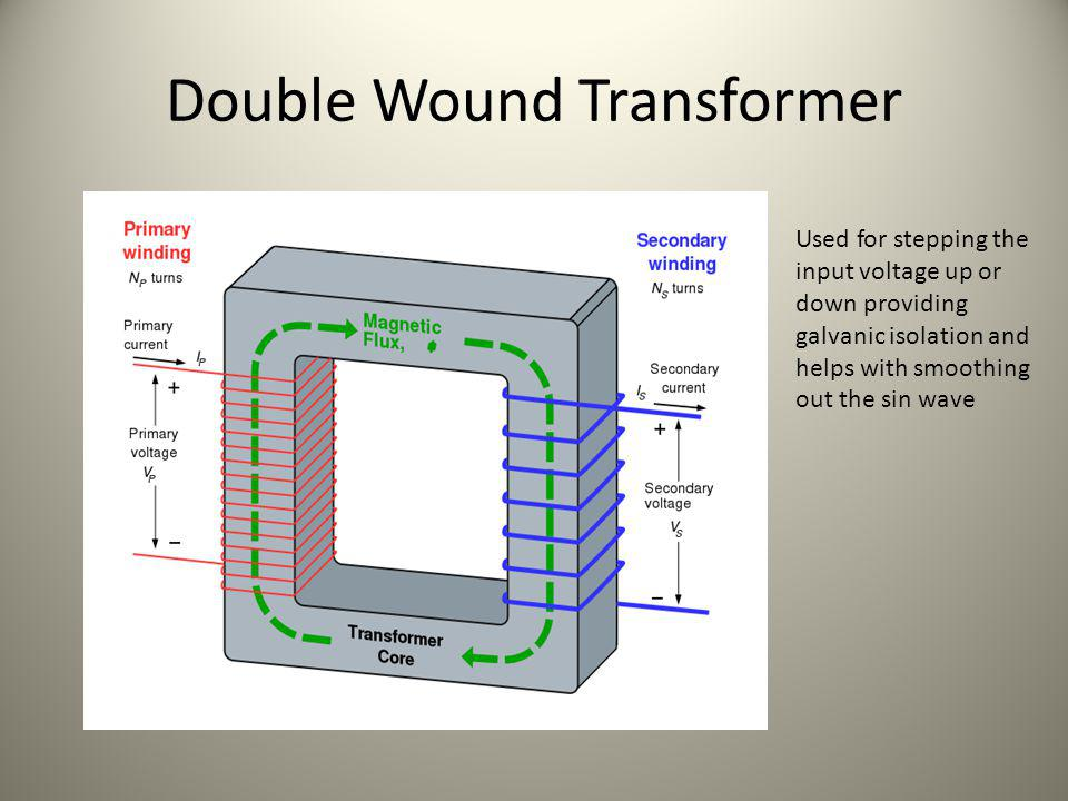 Double Wound Transformer