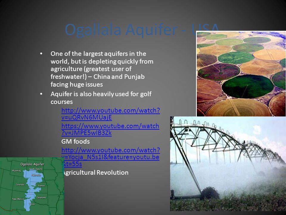 Ogallala Aquifer - USA