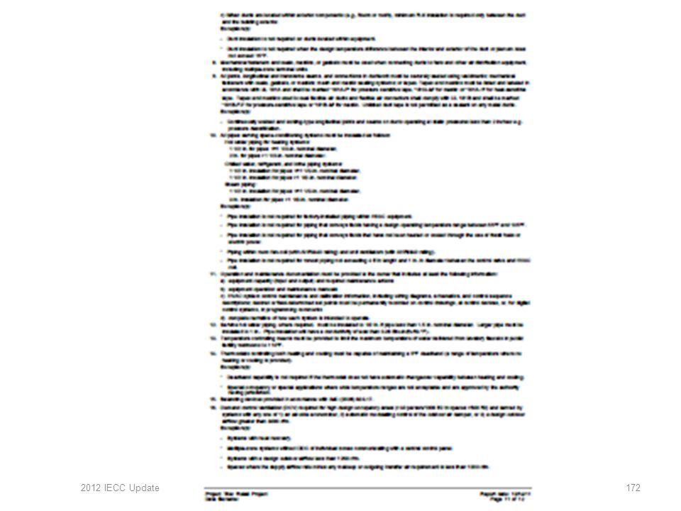 2012 IECC Update