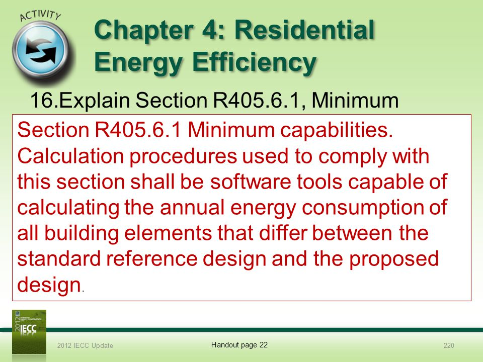 Chapter 4: Residential Energy Efficiency