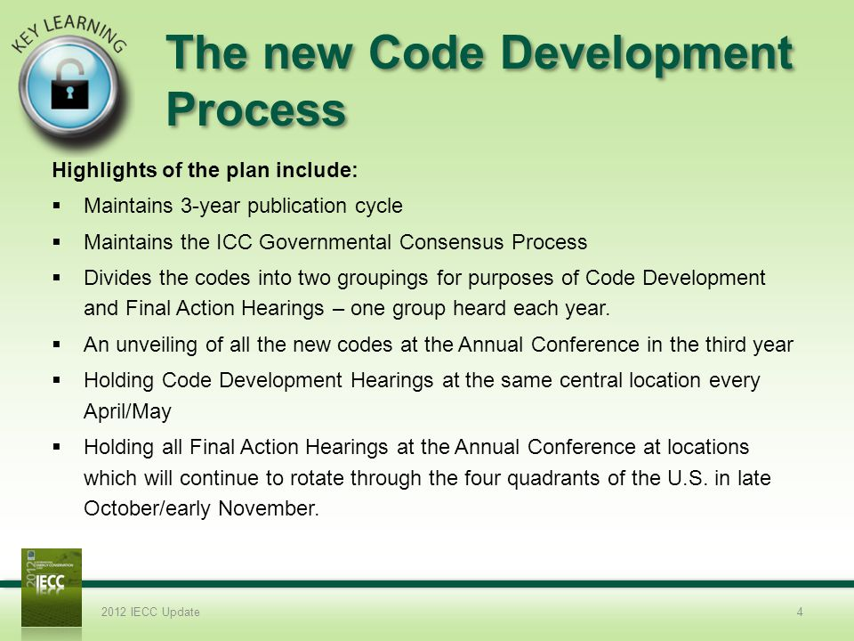 The new Code Development Process