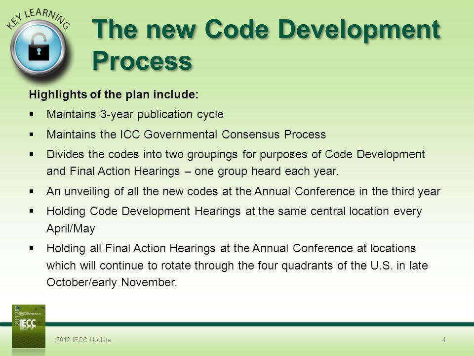 The new Code Development Process