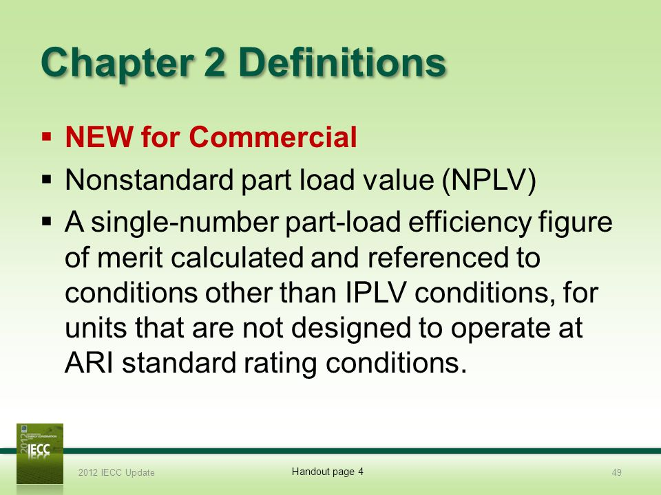 Chapter 2 Definitions NEW for Commercial