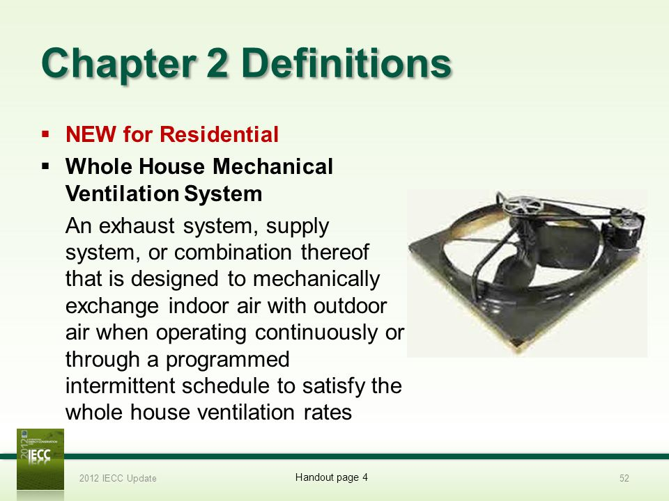Chapter 2 Definitions NEW for Residential