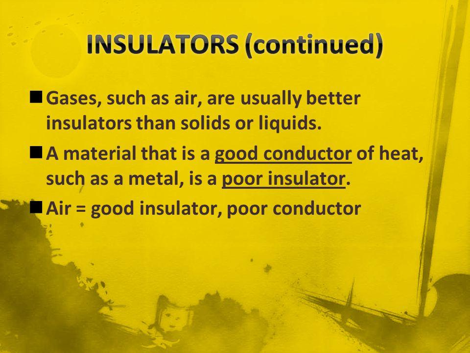 INSULATORS (continued)