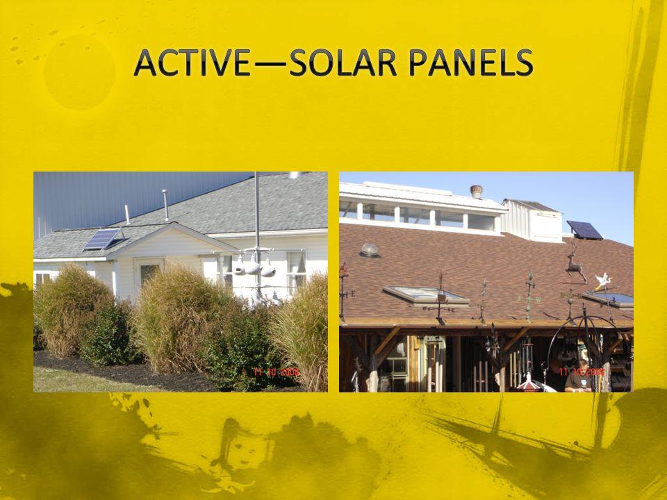 ACTIVE—SOLAR PANELS