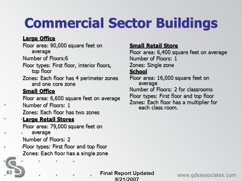 Commercial Sector Buildings