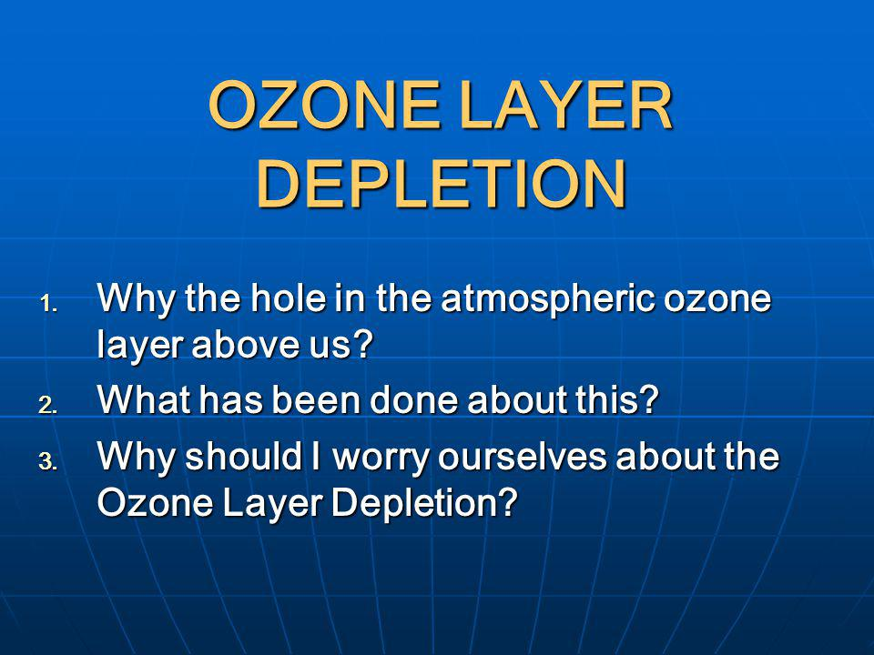 analysis of the atmospheric ozone layer and what we can do to prevent the expansion of the ozone hol History of the study of atmospheric ozone richard s stolarski nasa goddard space flight center greenbelt, md 20771 usa abstract ozone is a substance that touches on our modern society in many ways.