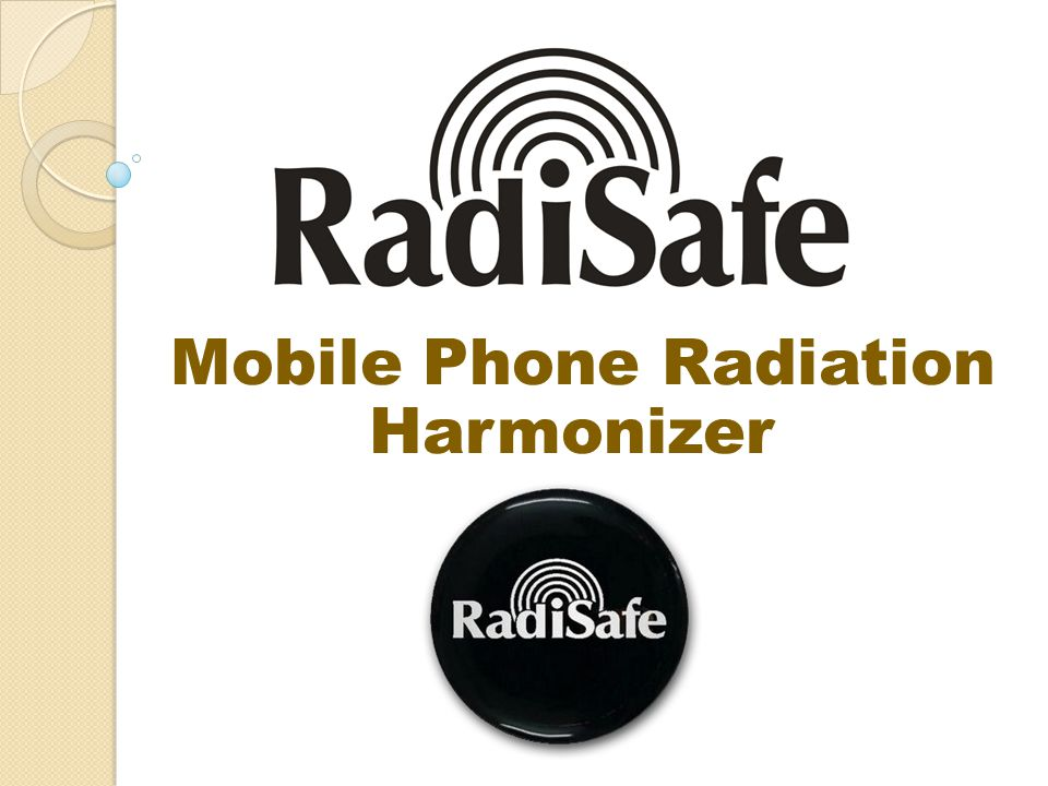 Mobile Phone Radiation Harmonizer