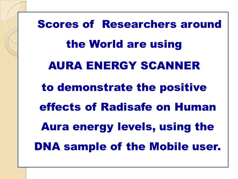 Scores of Researchers around the World are using