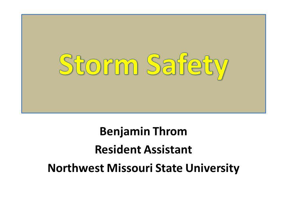 Benjamin Throm Resident Assistant Northwest Missouri State University