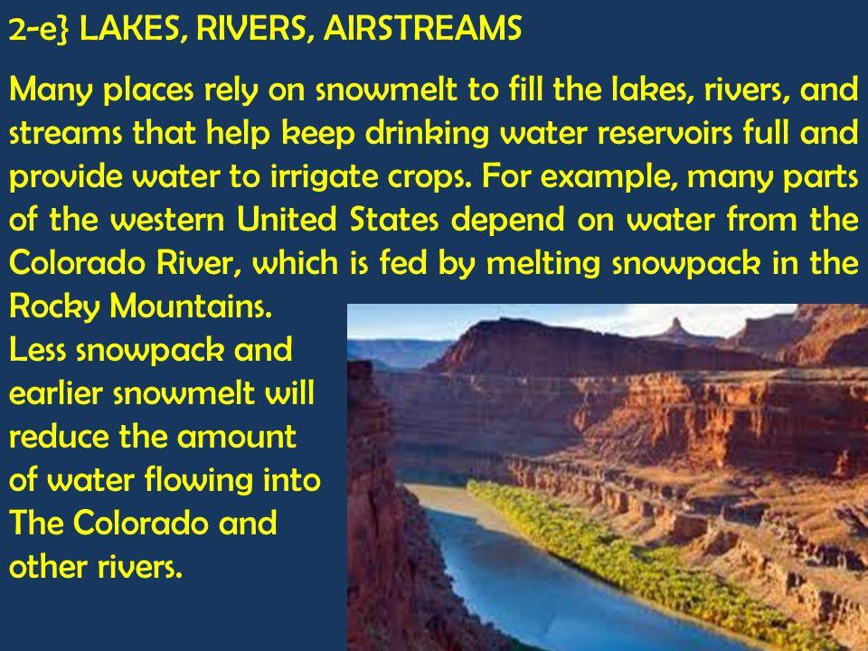 2-e} LAKES, RIVERS, AIRSTREAMS