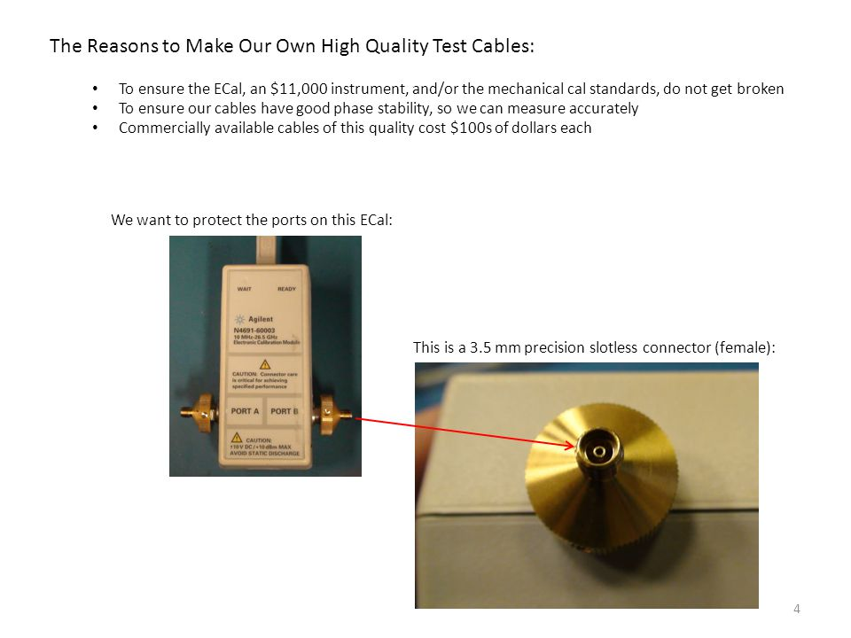 The Reasons to Make Our Own High Quality Test Cables: