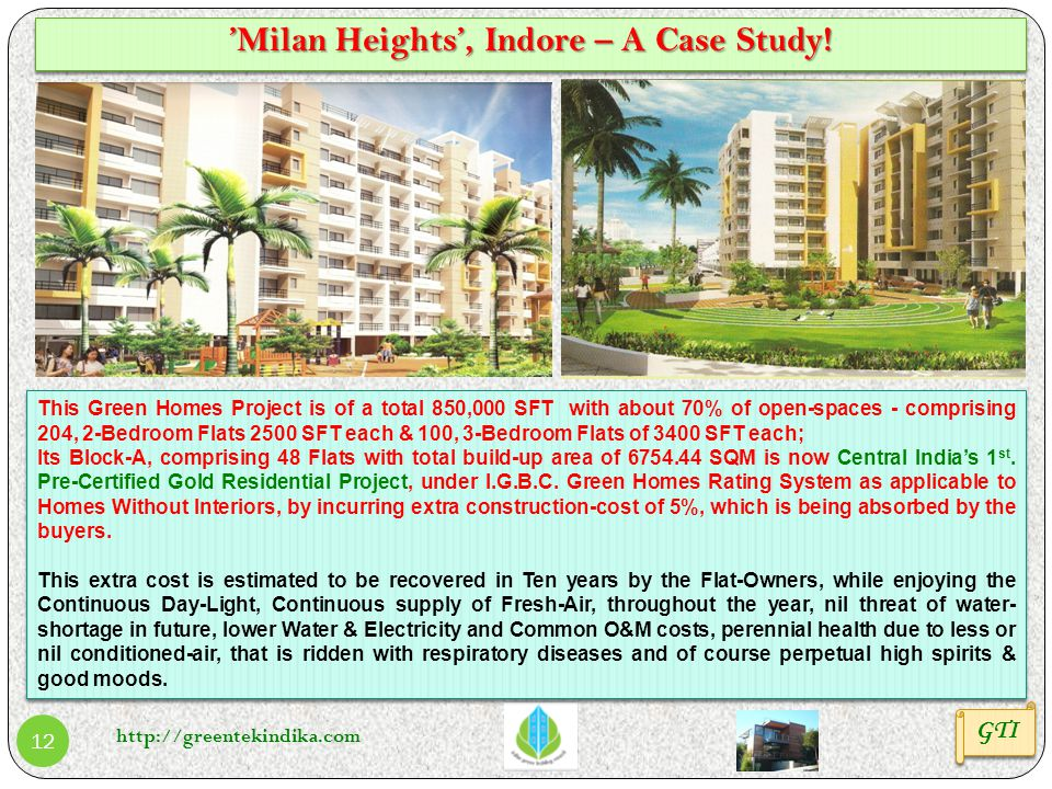 'Milan Heights', Indore – A Case Study!