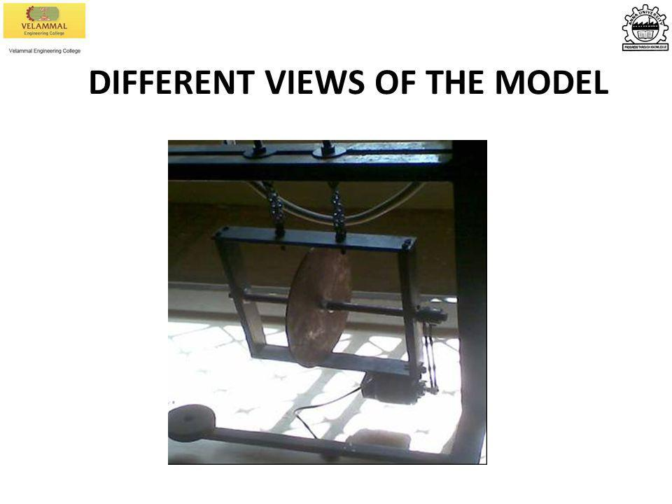 DIFFERENT VIEWS OF THE MODEL