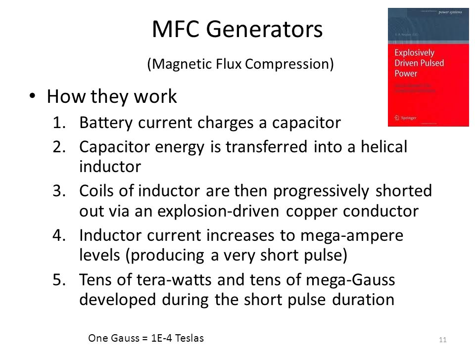 MFC Generators (Magnetic Flux Compression)
