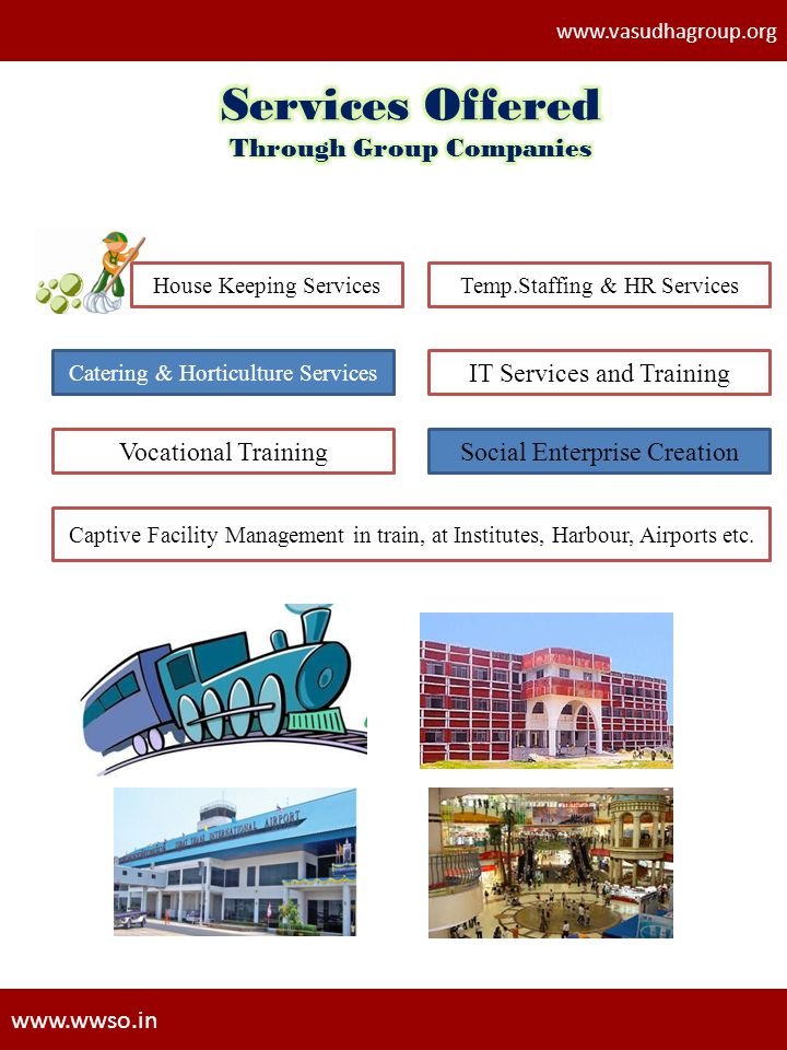 Through Group Companies