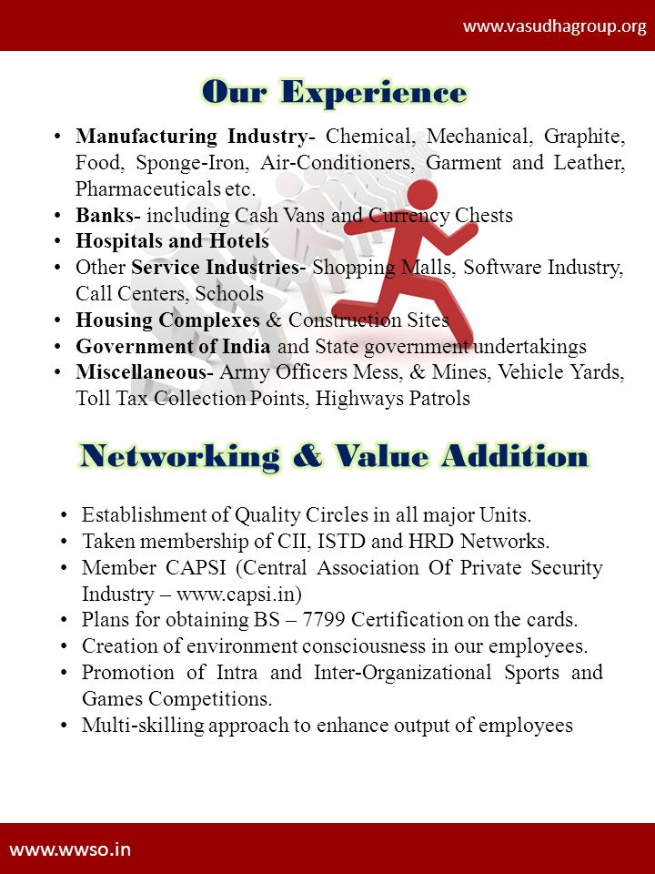 Networking & Value Addition