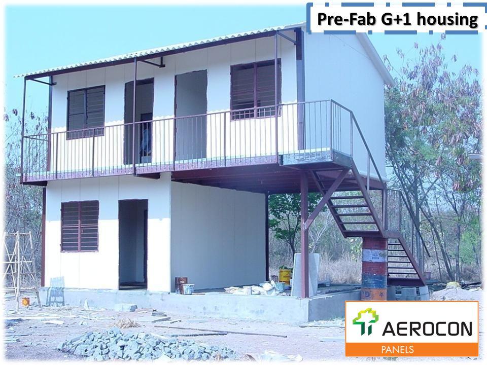Pre-Fab G+1 housing