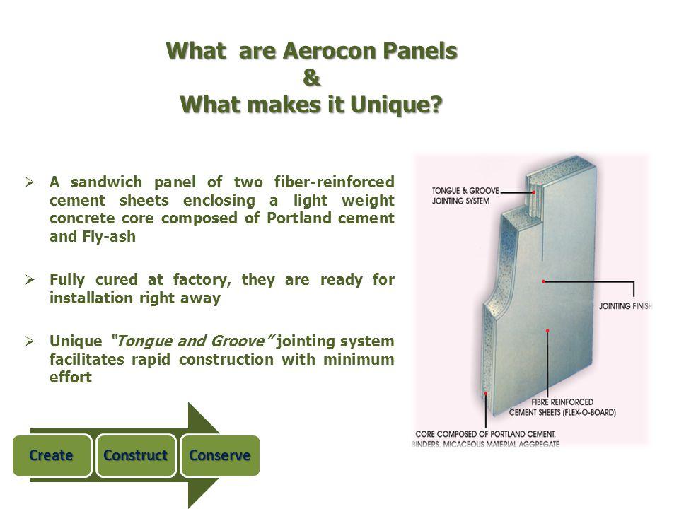What are Aerocon Panels & What makes it Unique
