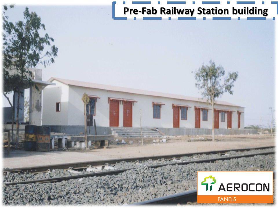 Pre-Fab Railway Station building