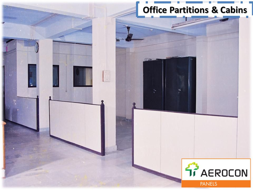Office Partitions & Cabins