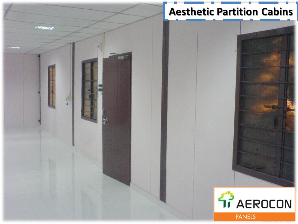 Aesthetic Partition Cabins