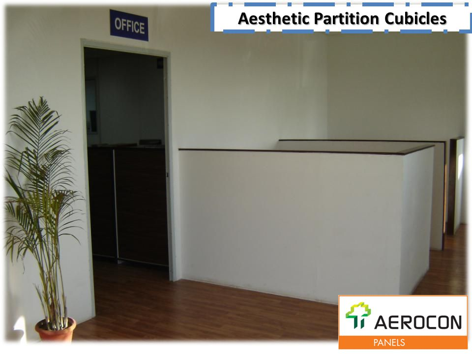 Aesthetic Partition Cubicles