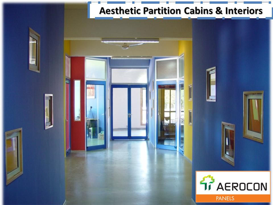 Aesthetic Partition Cabins & Interiors