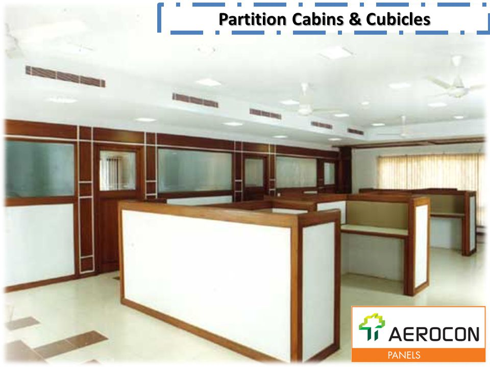 Partition Cabins & Cubicles
