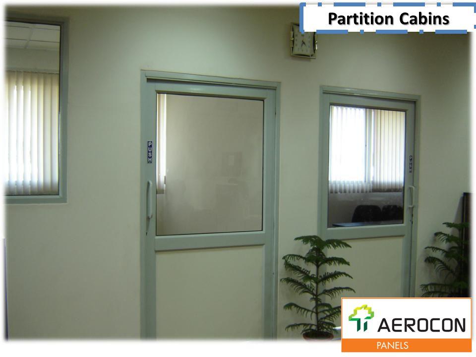 Partition Cabins