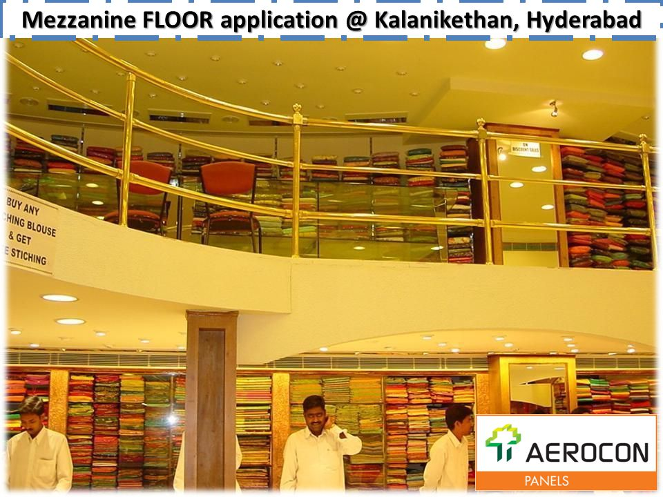 Mezzanine FLOOR application @ Kalanikethan, Hyderabad