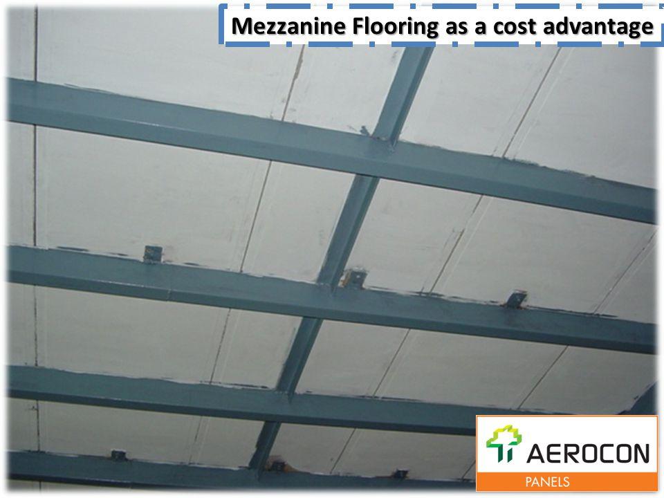 Mezzanine Flooring as a cost advantage