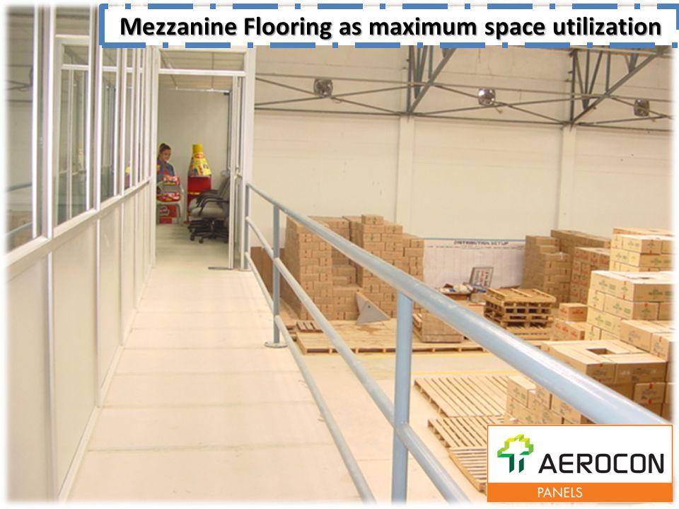 Mezzanine Flooring as maximum space utilization