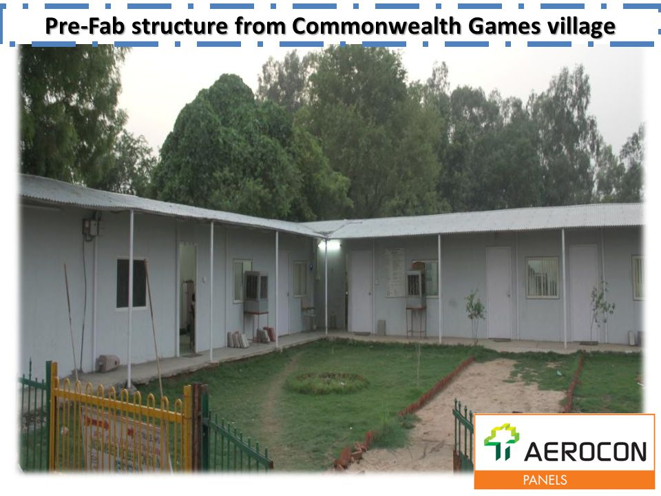 Pre-Fab structure from Commonwealth Games village