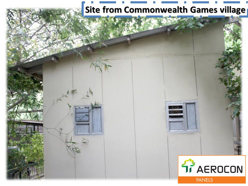 Site from Commonwealth Games village