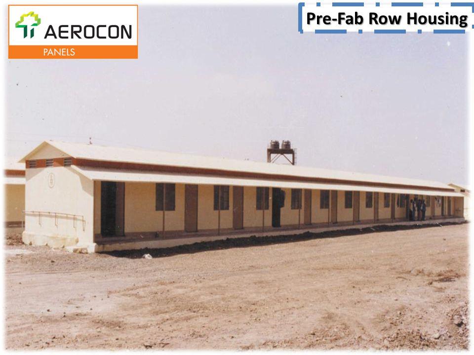Pre-Fab Row Housing