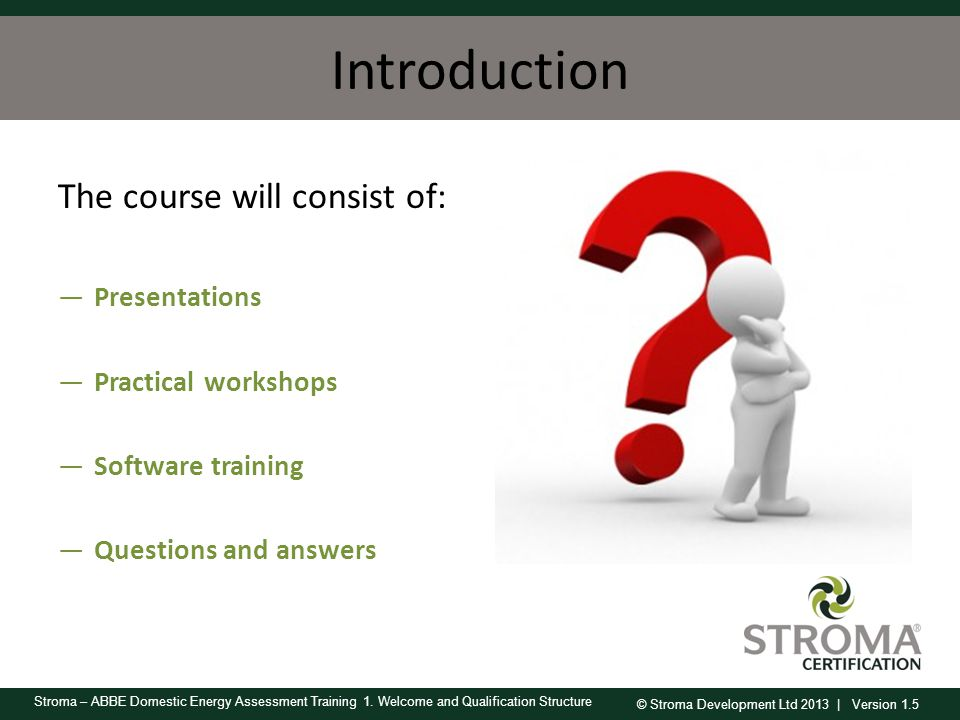 Introduction The course will consist of: Presentations