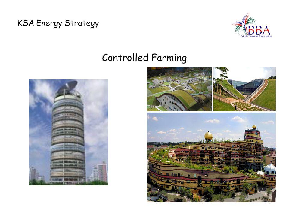 KSA Energy Strategy Controlled Farming